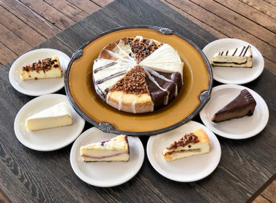 Holiday Sampler Cheesecake
