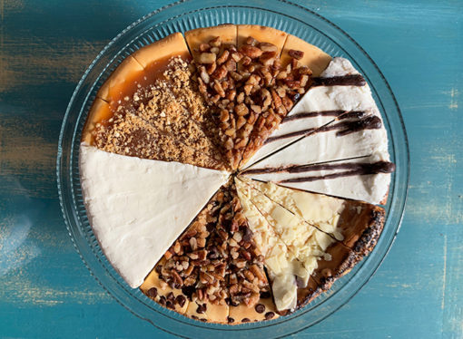Fall Sampler Cheesecake