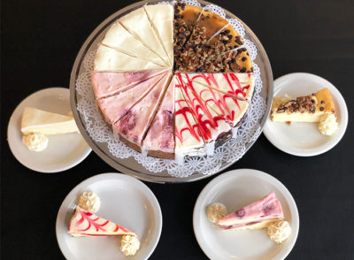 Valentine's Sampler Cheesecake