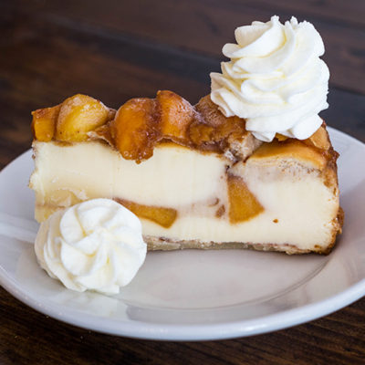 Southern Peach Cheesecake